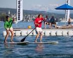 Team Paddle Battle im Seebad Enge Zürich