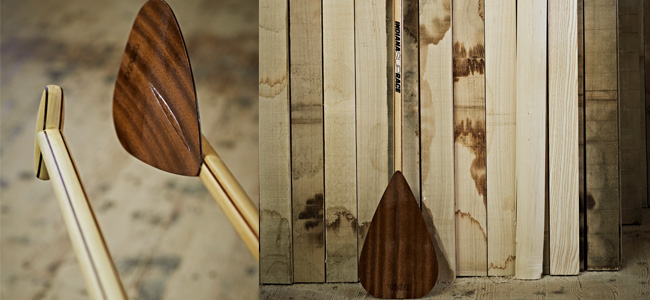 Holz-sup-paddel