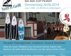 Indiana-SUP Test n Grill Party am 26.06 bei den SUP-Piraten