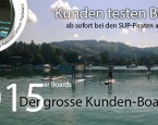 Der grosse SUP-Board Kundentest 2015