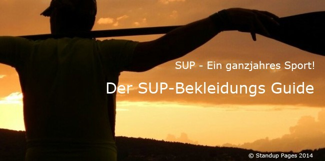 SUP-Bekleidungs-Guide