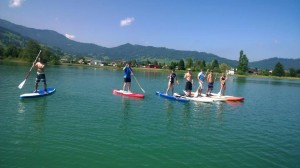 SUP-Teamanlass Sommer