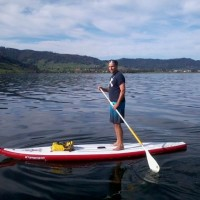 Stand Up Paddling Sommer