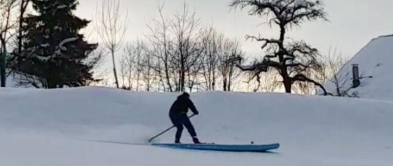 Paddle-Board-Snow