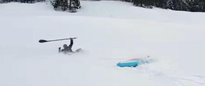 SUP-Winter-Schnee