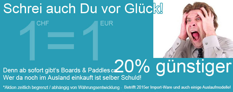Preis-Aktion-SUP-Boards