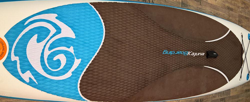 Kajuna-Flat-Ray-inflatable-SUP-Test