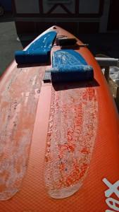Fusspad-reparatur-Stand-up-paddel-Board
