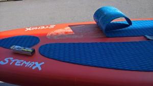 Fusspad-reparatur-paddle-Board