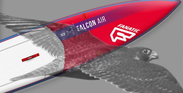 Fanatic Falcon Air 12'6 – Der rote Falke im Test