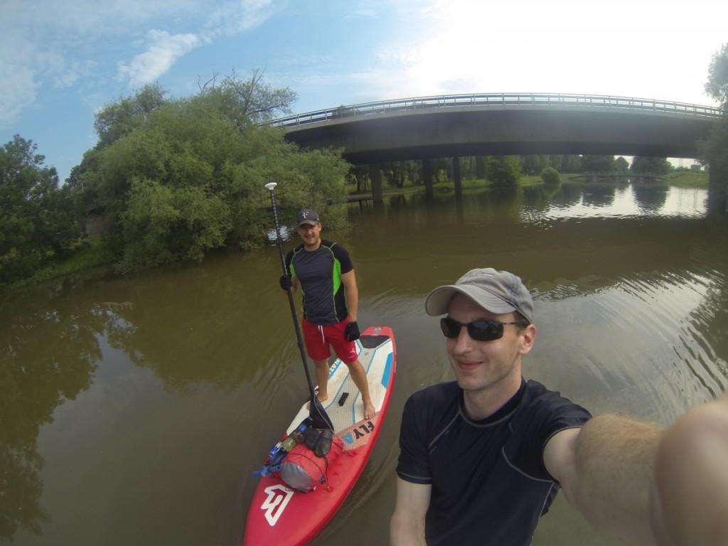 SUP-Tour-Fluss