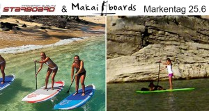 Makaiboards & Starboard Markentag am 25. Juni bei den SUP-Piraten