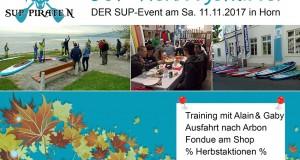 11. November SUP Herbstgeflüster – Der SUP Event in Horn