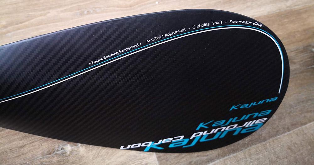 Kajuna-Carbon-SUP-Paddle-test